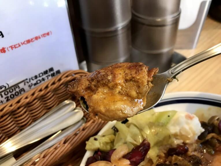カレー専門店ブラザー|盛りだくさんチキン野菜カレー(高田馬場)