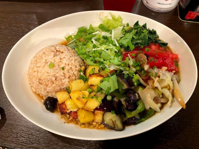 はるかなるカレー|野菜たっぷりキーマカレー(銀座)
